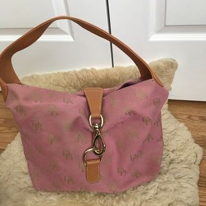 Dooney & Bourke light pink satchel
